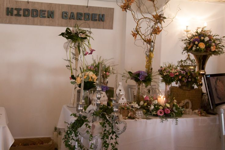 Sponsoring our Bridal Bouquet, table centre and button holes