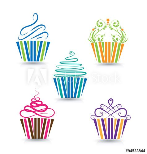 Cupcake Design Vector : The 25+ best ideas about Baking Tattoo on Pinterest ...