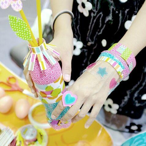 Colorful Tapes! | kitty manu | washi tape diy