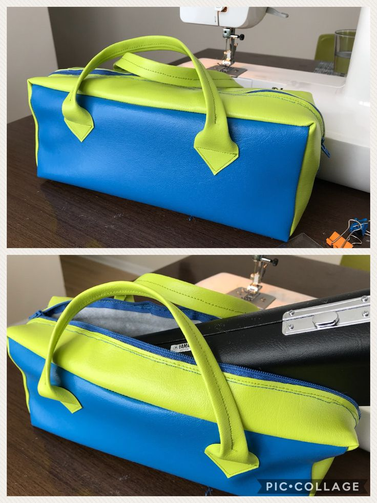 Piccolo Flute bag with padding to transport the precious instrument safely #piccolo #vinyl