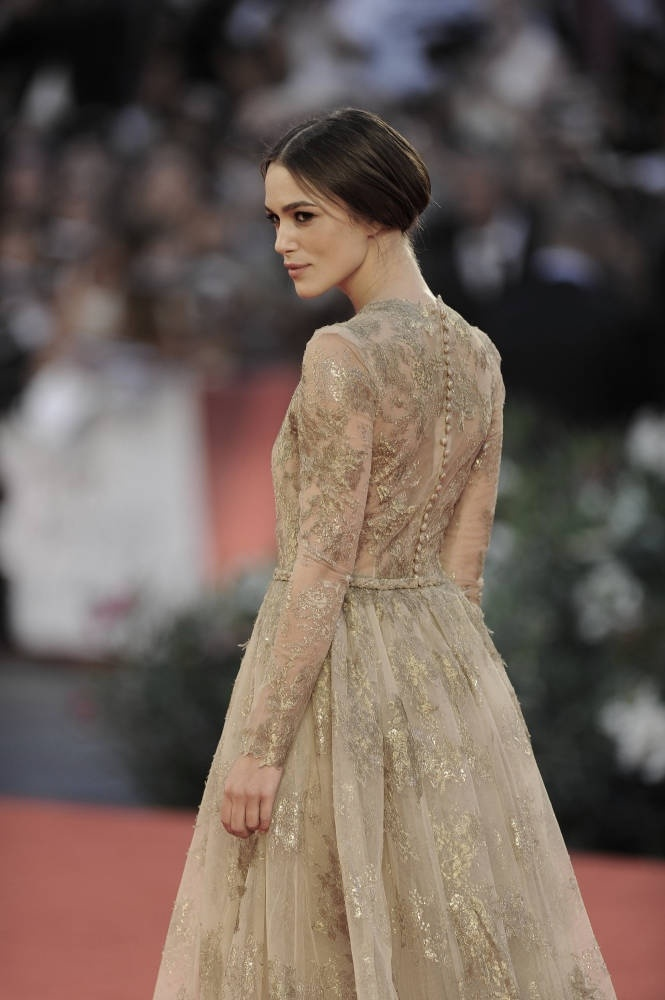 Keira Knightley at the Venice Film Festival