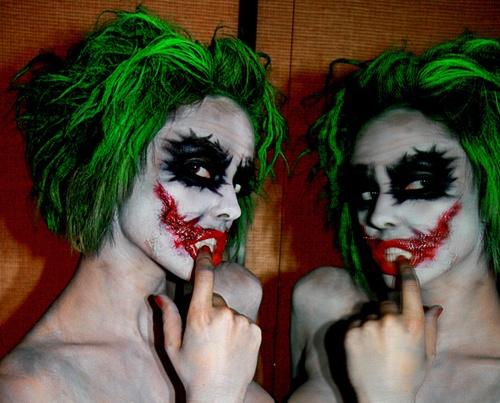 Mrs. Joker halloween costume