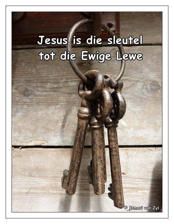 Jesus die sleutel