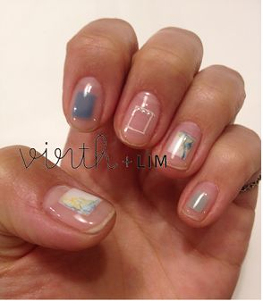 ZOZOPEOPLE | virth+LIM - 涼しげnail:::