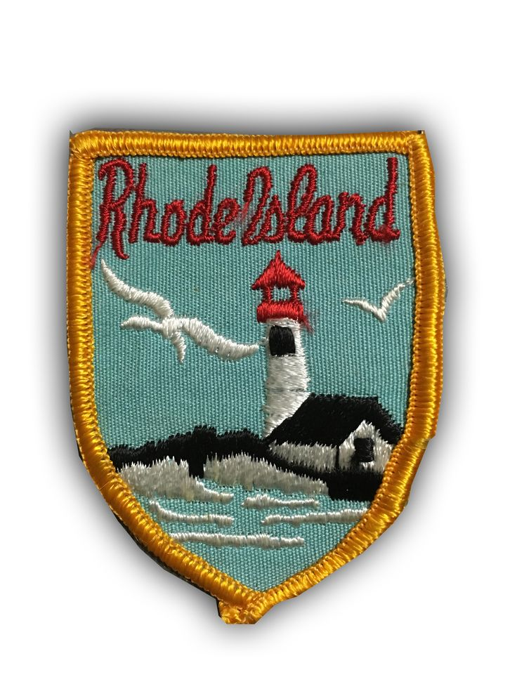 Rhode Island Patch Collectible Sew-On High Quality Stitching