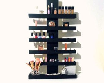17 best ideas about makeup shelves on pinterest diy makeup vanity diy makeup organizer and. Black Bedroom Furniture Sets. Home Design Ideas