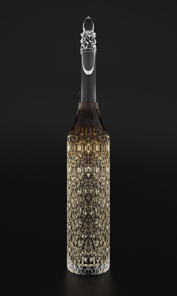 Cathedral Cognac Bottle by Ivan Venkov THAT bottle so pretty