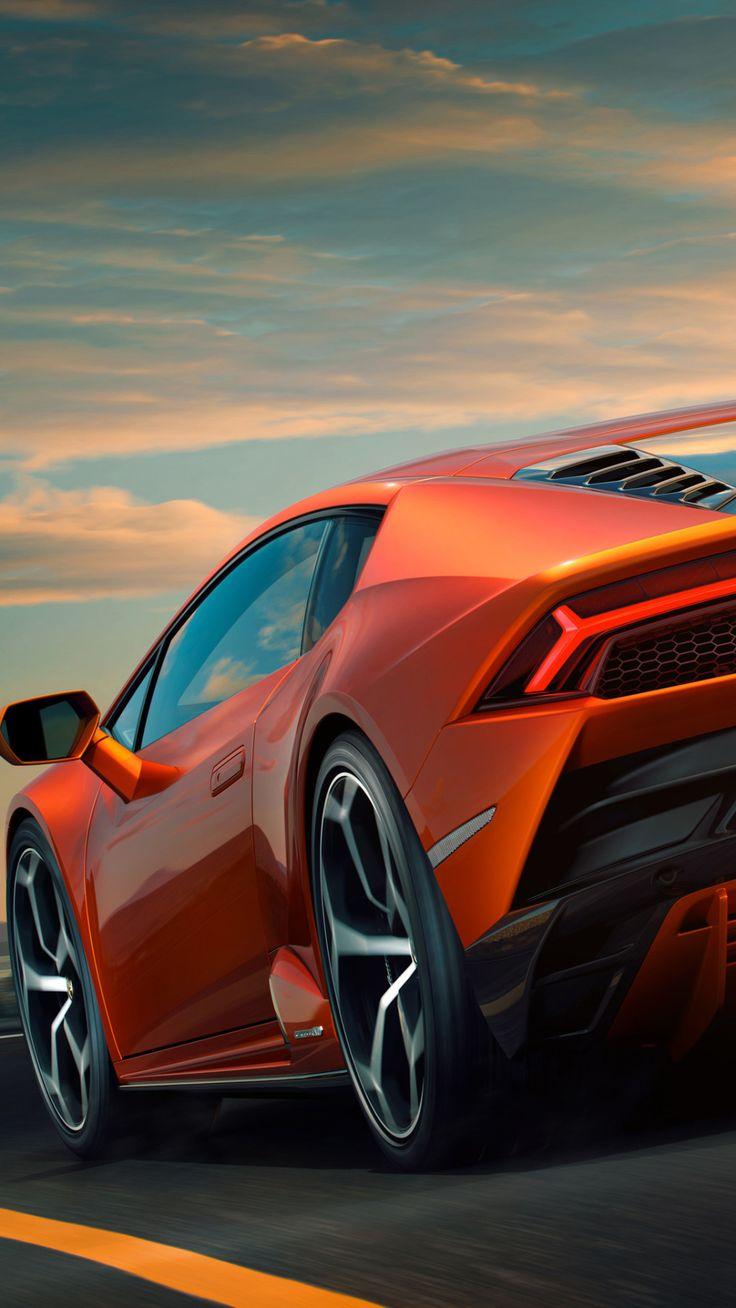 Lamborghini Huracan EVO 2019 Rear View Mobile Wallpaper ...