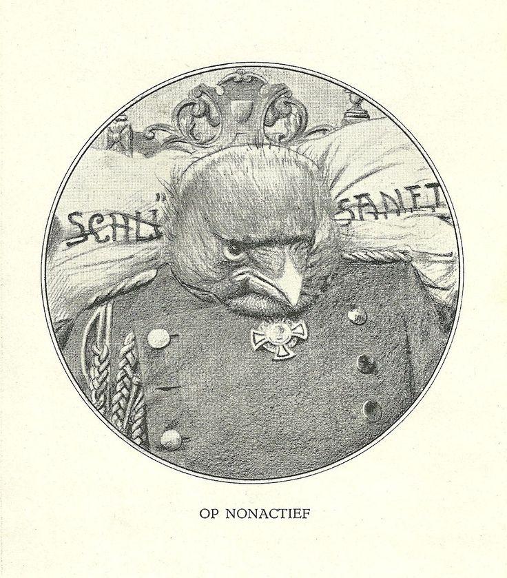 Op Nonactief by Henri Verstijnen. Europeana 1914-1918, CC BY-SA