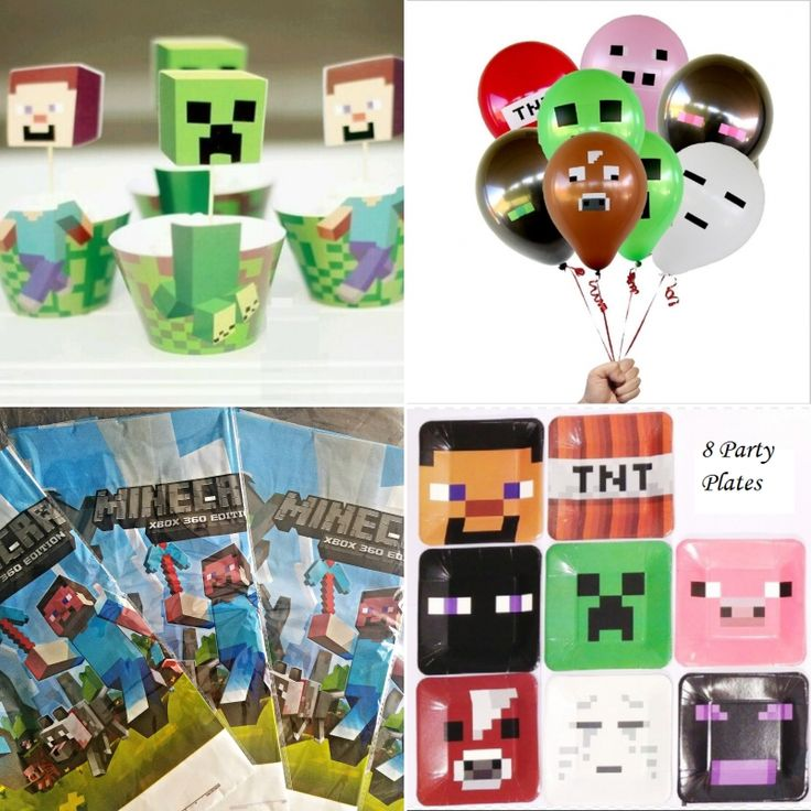 #minecraft #minecraftbirthday #minecraftideas #minecraftparty #bestminecraftparty https://www.artfire.com/ext/shop/home/Affordablefashionsco