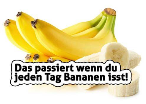 Das passiert wenn du jeden Tag Bananen isst!