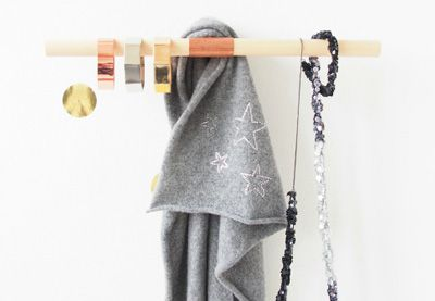 Copper is one of the biggest trends for interiors and design this season, but you don't have to buy expensive designer pieces. Make your own copper multi-functional wall hook instead,with a few supplies from the hardware store. | Difficulty: Beginner; Length: Medium; Tags: Decorations, Homewares