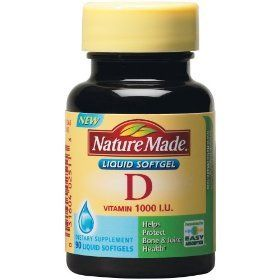Nature Made vitamin D 1000 IU liquid softgels - 90 ea * undefined