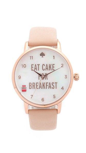 Eat Cake for Breakfest Watch
