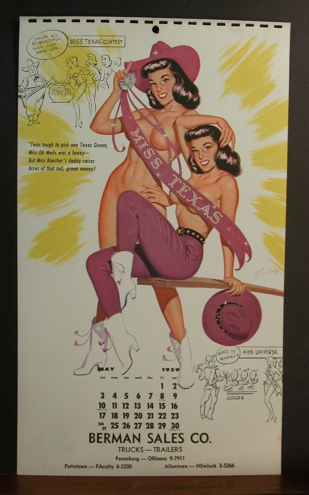 May Calendar Girl Book : Best bill randall pinup images on pinterest