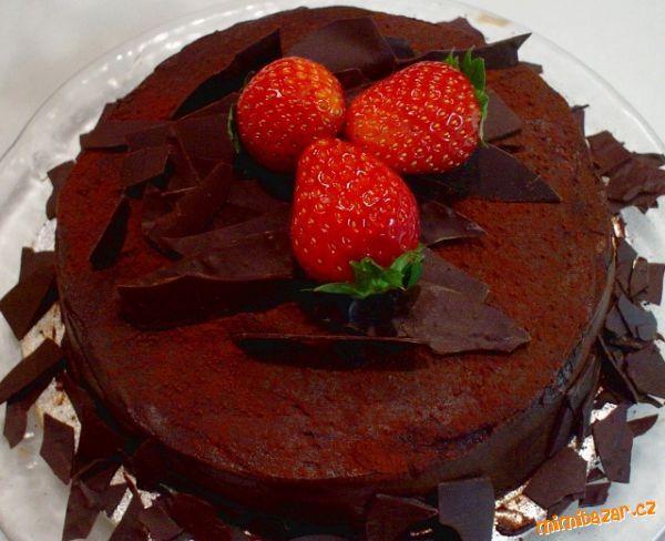 Výborný a jednoduchý dort Sacher
