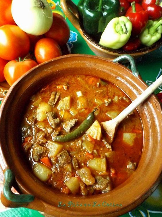 Carne Guisada Con Papa Mexican Meals In 2018 Pinterest Mexican