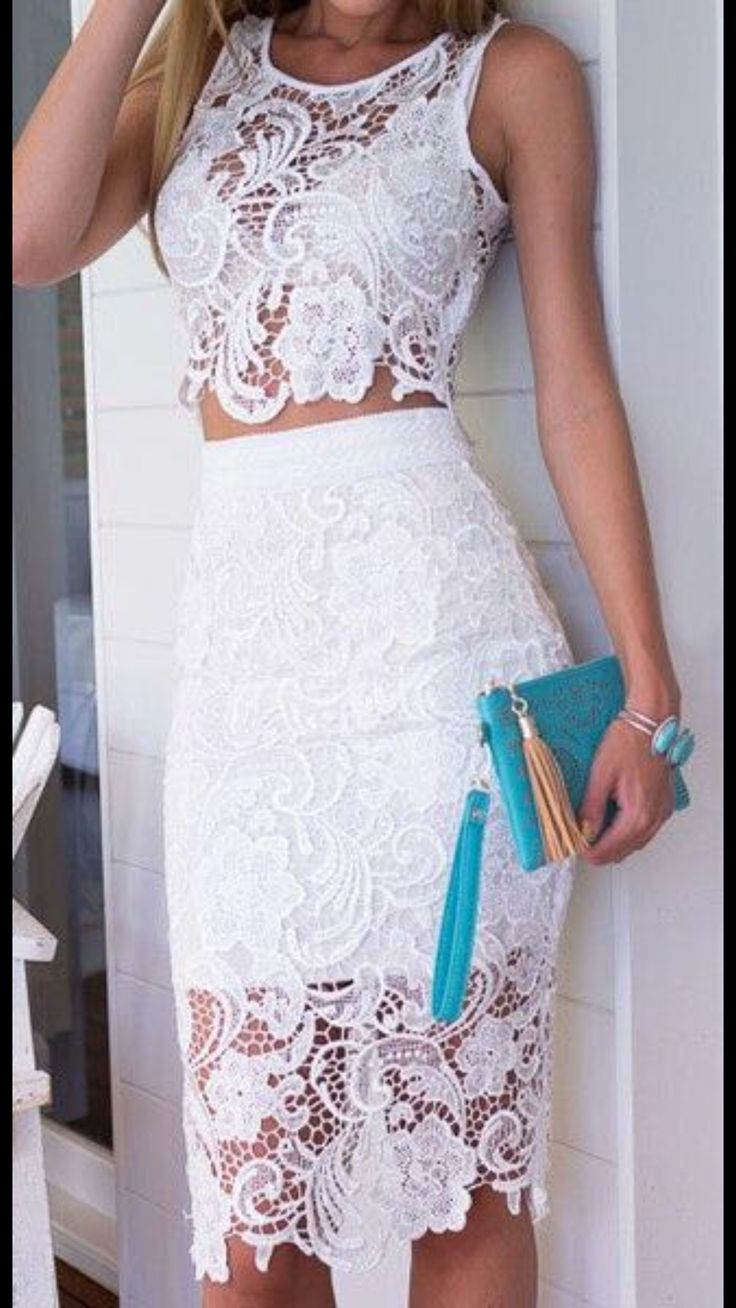 White lace apron wedding - White Lace Apron Wedding 26