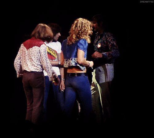 Robert Plant - that unmistakable walk! #gettheledout