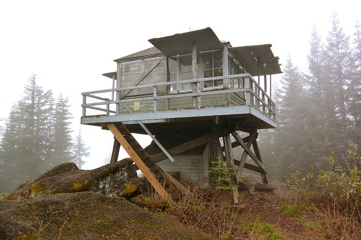 The Lookout Decommissioned Fire Watch Tower Lookout