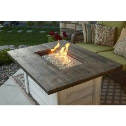 Alcott Rectangular Gas Fire Pit Table - Fire Pits - Fire Pits