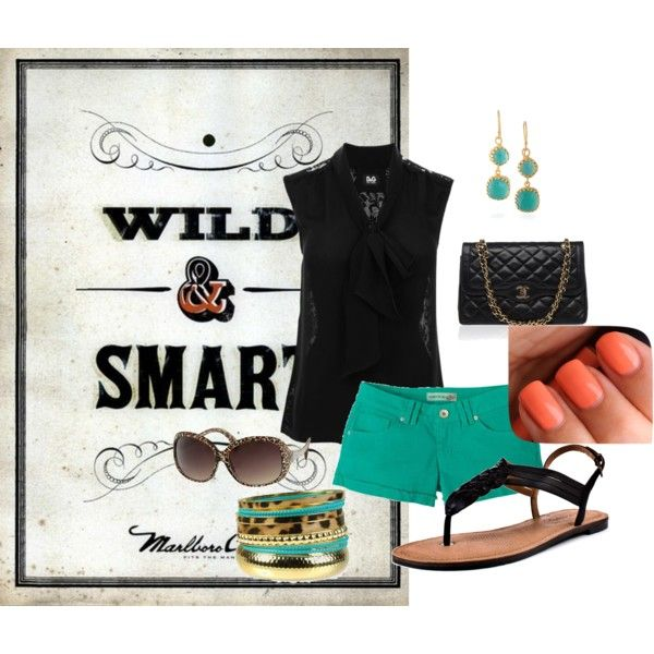 wild and smart, created by craftymommy86 on Polyvore
