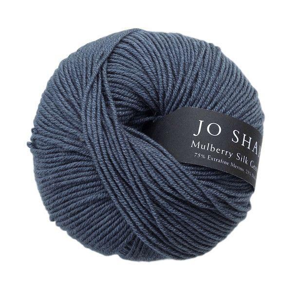 Mulberry Silk Georgette, luxurious Merino wool and silk knitting yarn, 50g, Orinoco - I Wool Knit