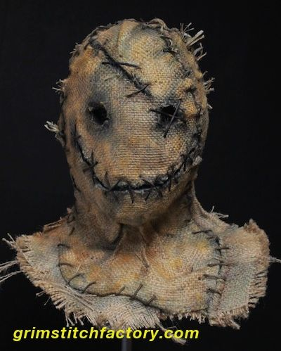Grim Stitch Factory scarecrow masks are literally wearable art, and a unique terrifying collectible to own whether you're a mask collector, film maker, haunter, or just really love Halloween. Description from grimstitchfactory.com. I searched for this on bing.com/images