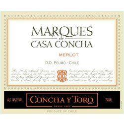 Concha y Toro 2013 Marques de Casa Concha Merlot - Red Wine
