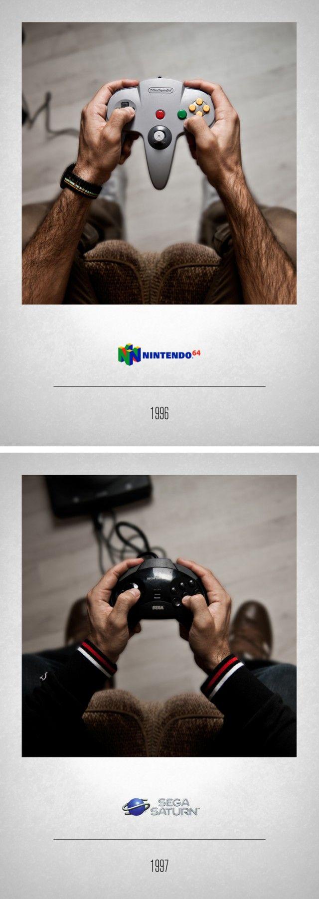 artsite-jeux-video-histoire-manettes-photographie-11 Un photographe retrace 30 ans de consoles de jeux à travers 22 manettes intemporelles