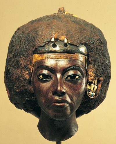 The Nubian Egyptian Queen Tiye, Akhenaten's mother