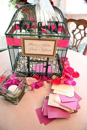 Wedding Design & Decor: Birdcage Details