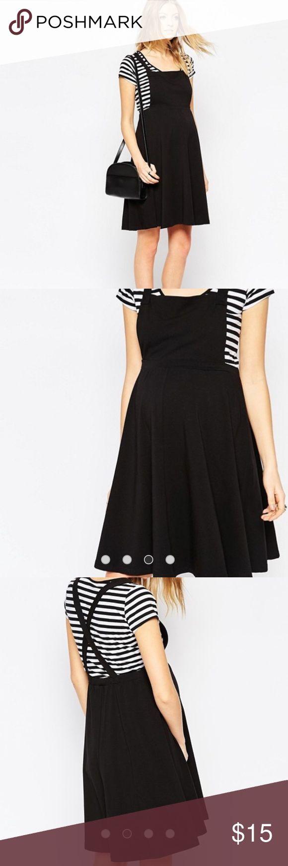 ASOS Maternity black dress Never worn dress from ASOS Maternity ASOS Maternity Dresses