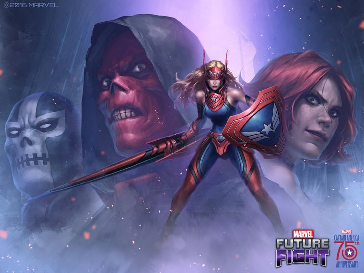 Marvel Future Fight Captain America 75th Anniversary - JeeHyung Lee