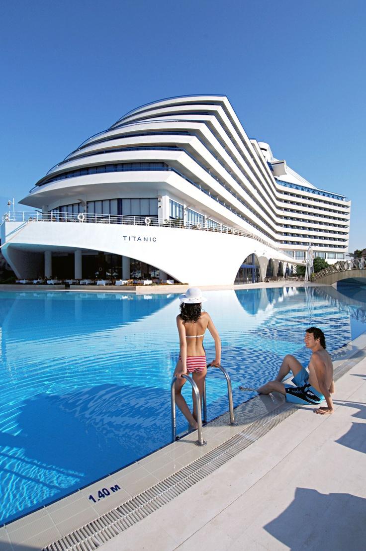 Titanic Hotel, Lara Beach/Turkey