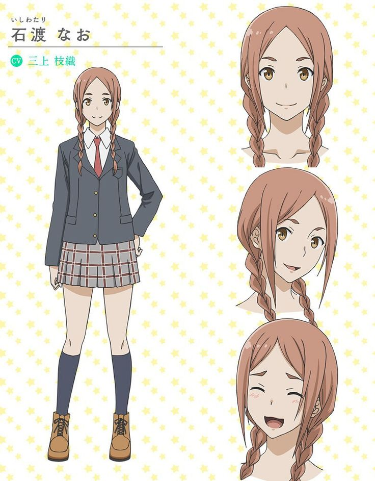 Character Design Wiki : Flying witch tv anime character designs nao ishiwatari