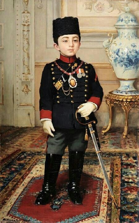 Prince Abulalrhman the son of Sultan Abdualhameed the last of Ottoman Empire Rulers