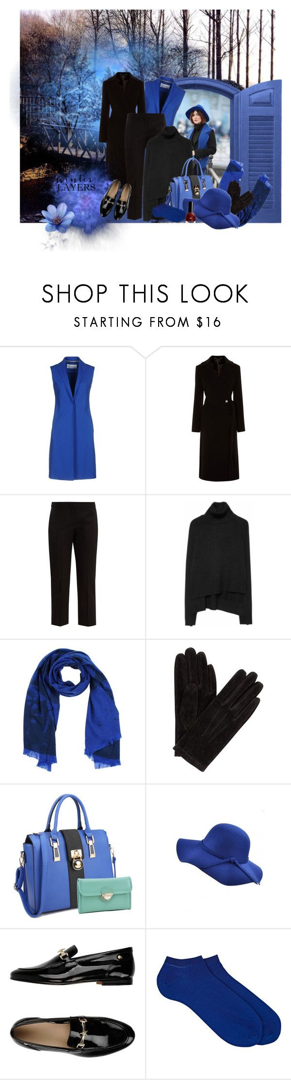 """""""Winter Layers: Waistcoat"""" by catsanddogs-563 ❤ liked on Polyvore featuring Harris Wharf London, Karen Millen, Alexander McQueen, Zadig & Voltaire, McQ by Alexander McQueen, John Lewis, Dasein, WithChic, Tommy Hilfiger and Barneys New York"""