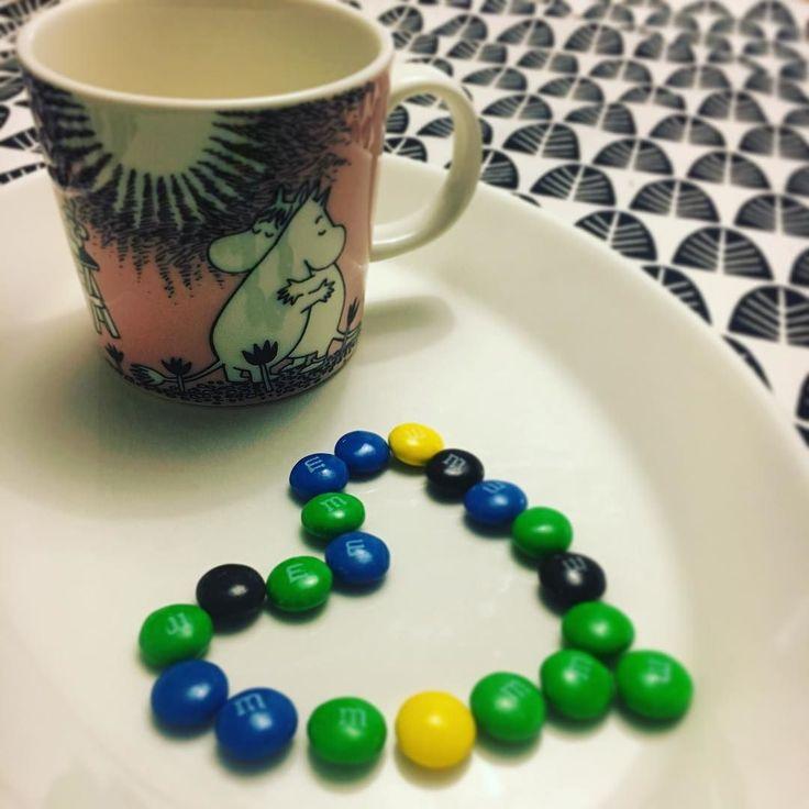 #valentines #valentineday #ystävänpäivä #ystävyys #muumimuki #candy #sweets #karkit