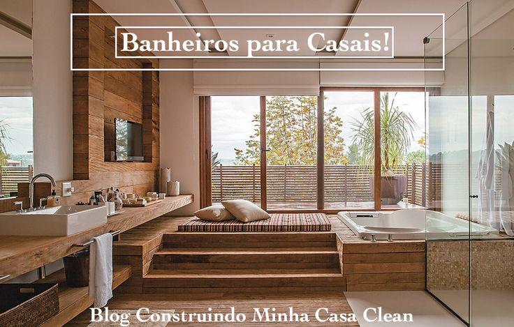 Construindo Minha Casa Clean: Banheira de Hidromassagem