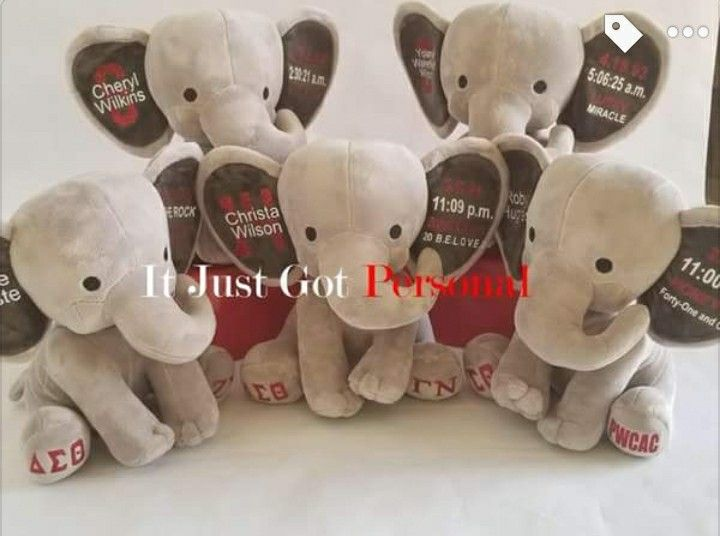 Personalized DST Elephant