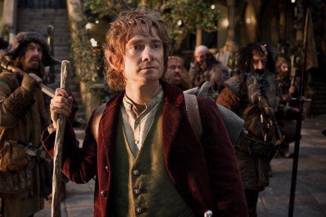 Still of Jed Brophy, Martin Freeman, William Kircher, Graham McTavish, James Nesbitt and Stephen Hunter in The Hobbit: An Unexpected Journey