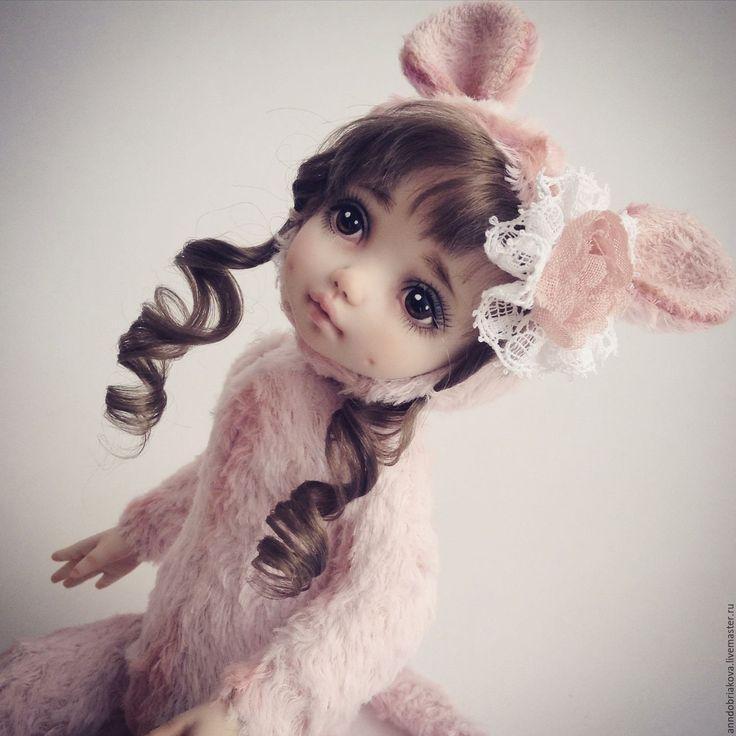 Купить Эмми. Тедди-долл мышка. - тедди-долл, тедди долл, кукла, авторская кукла