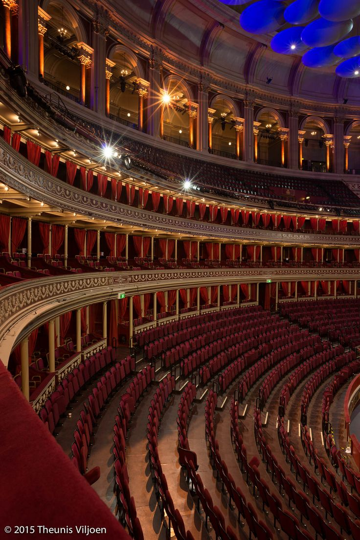 Interior Royal Albert Hall, London
