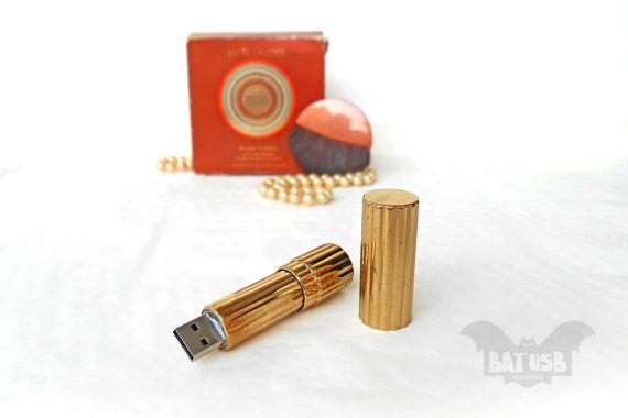 BAT 16GB USB flash drive  Memory Stick  by Think4HandmadeArt