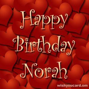 Happy Birthday, Norah!