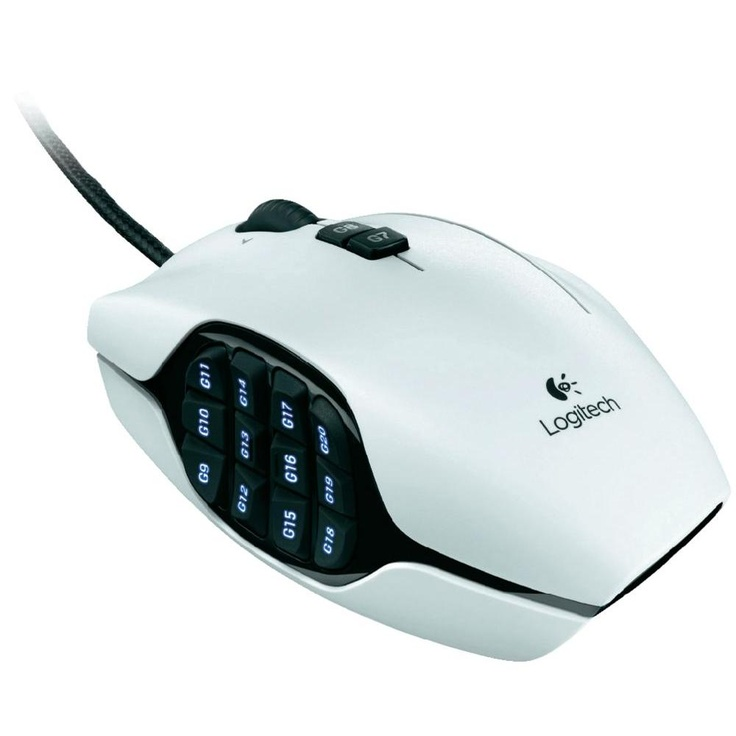 All I can say is this mouse is amazing. It has everything an MMO player could need. But what really stood out? The 20 buttons it has on the left side, and the extra mouse click button.