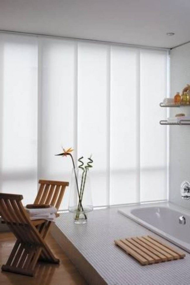 14 best window treatments images on pinterest blinds for Hideaway sliding glass doors
