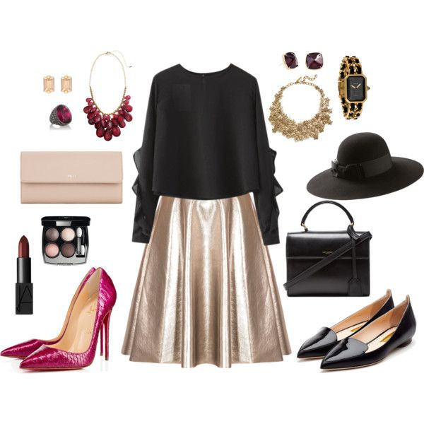 """""""one skirt two looks"""" by max-grynjov on Polyvore"""