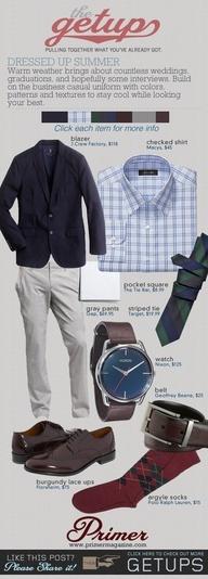 The Getup: Dressed Up Summer   Primer